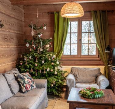 Leśne uroczysko_Dom-z-bali_Bieszczady Święta, Wigilia